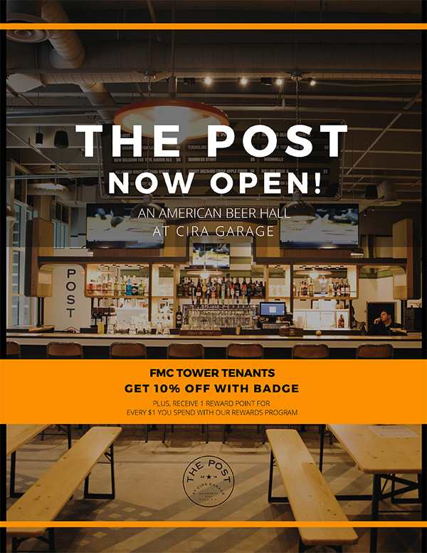 The Post at Cira Garage - American Beer Hall